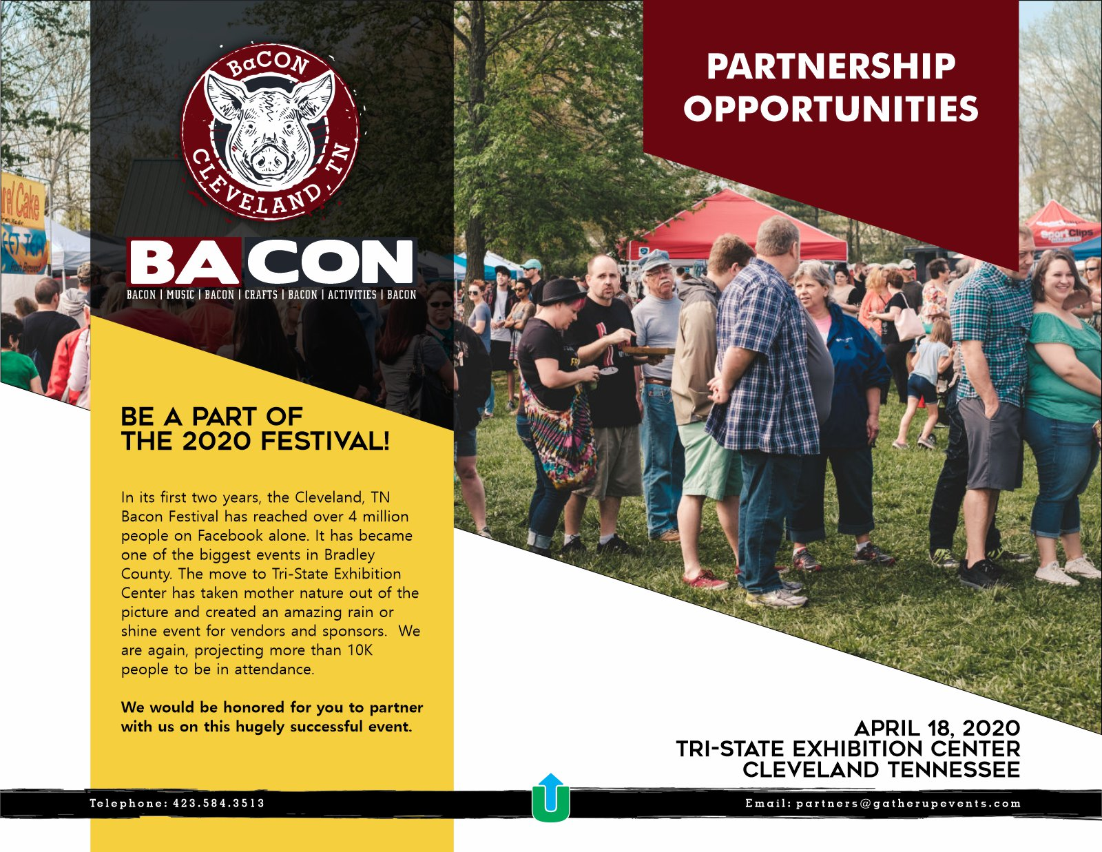 Bacon Festival 2020.Bacon Festival 2020 Partner Signup Gather Up Events